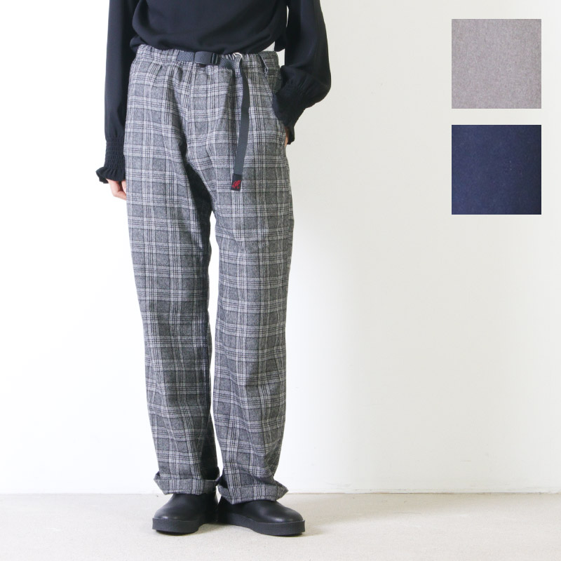 GRAMICCI(グラミチ) W'S WOOL BLEND LAX PANTS