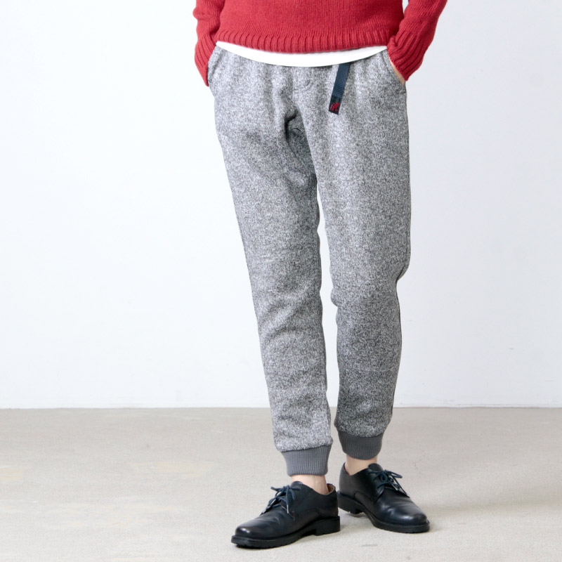 GRAMICCI(グラミチ) BONDING KNIT FLEECE NARROW RIB PANTS