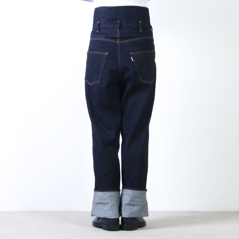 Graphpaper(グラフペーパー) Turnover Waisted Denim Pant OW