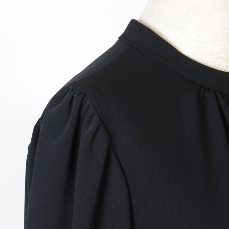 Graphpaper(グラフペーパー) Satin Puff Sleeve Dress