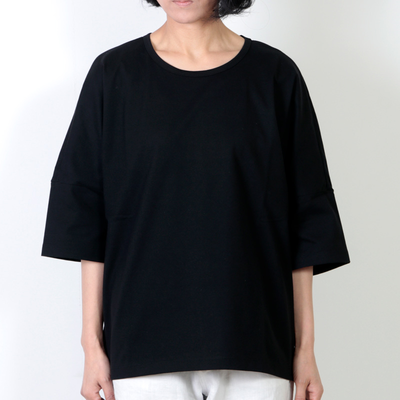 Graphpaper(グラフペーパー) Jersey Roundneck S/S Dolman Sleeve Tee