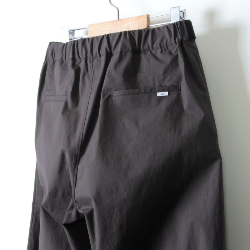 Graphpaper(グラフペーパー) Strech Typewriter Wide Cook Pants