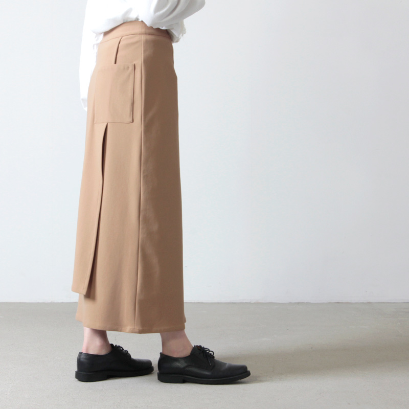 Graphpaper(グラフペーパー) Meryl Nyron Wrap Skirt