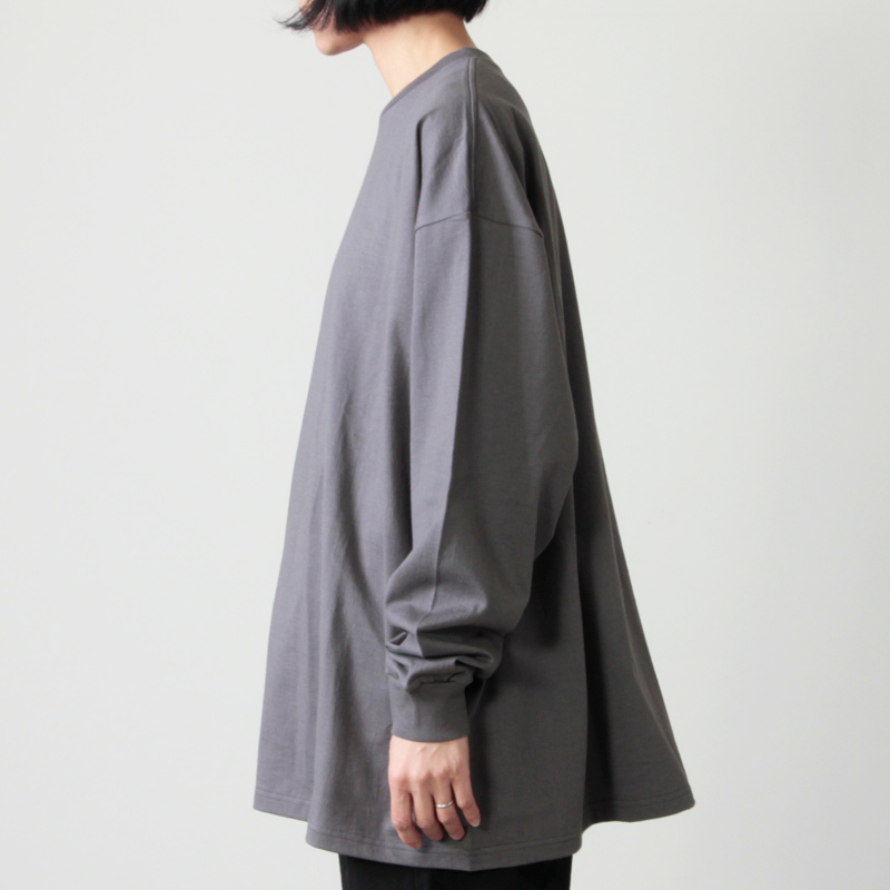 Graphpaper(グラフペーパー) L/S Oversized Tee