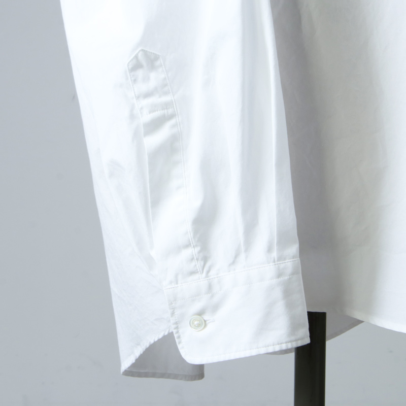 Graphpaper(グラフペーパー) Broad Oversized L/S Band Collar