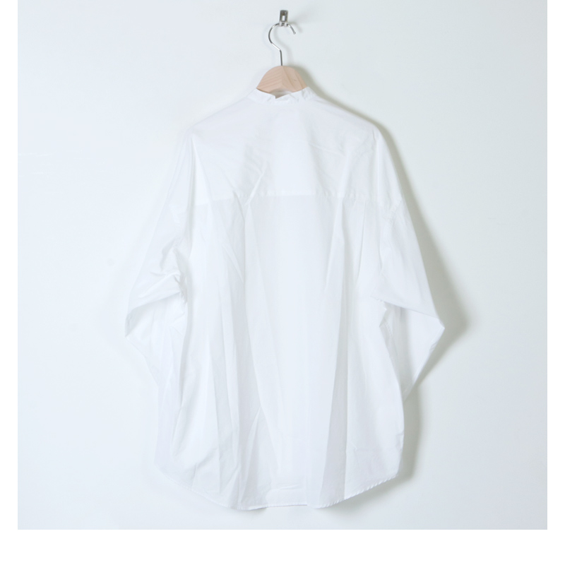 Graphpaper(グラフペーパー) Broad Oversized L/S Band Collar Shirt