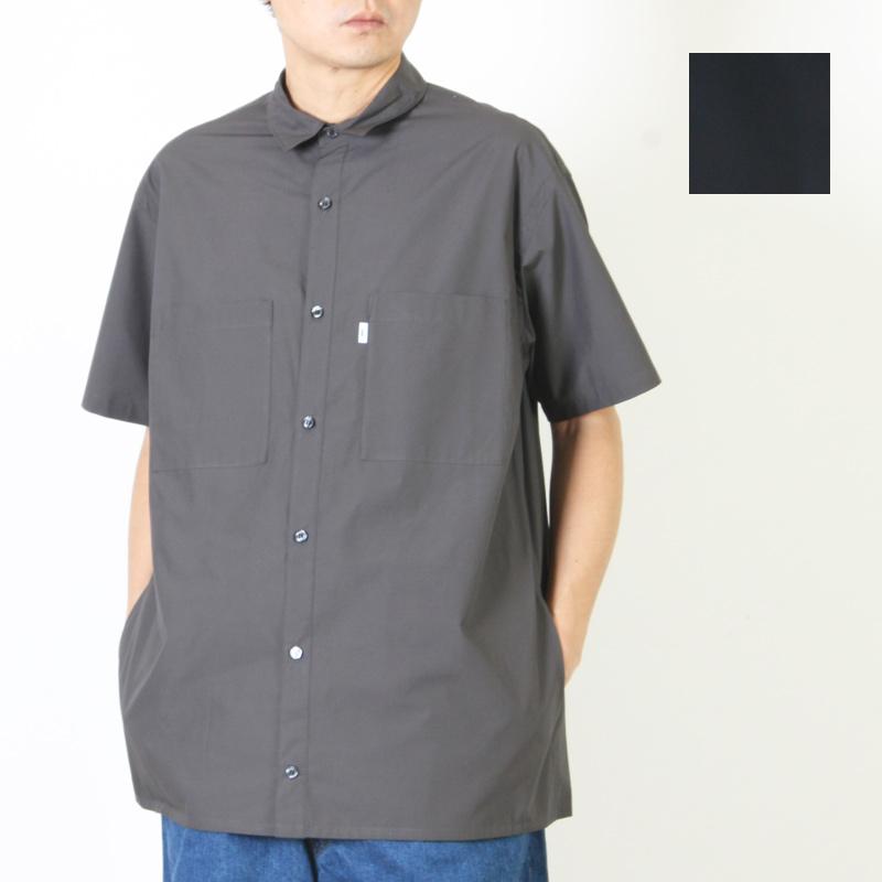 Graphpaper (グラフペーパー) Typewriter S/S Box Shirt / タイプライター ショートスリーブ ボックスシャツ