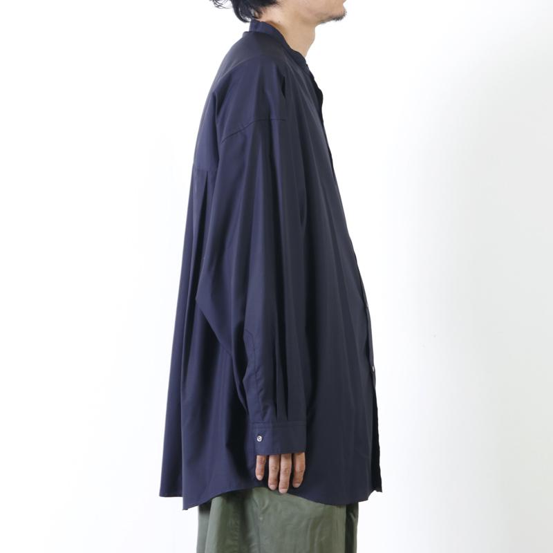 Graphpaper(グラフペーパー) Band Collar Big Sleeve Shirt