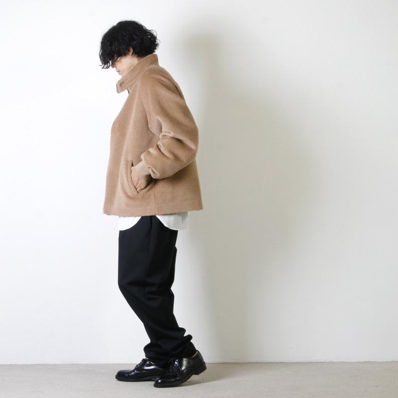 Graphpaper(グラフペーパー) Alpaca Shaggy Harrington Jacket
