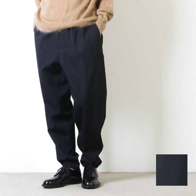Graphpaper (グラフペーパー) Selvage Wool Cook Pants / セルヴィッチウール コックパンツ