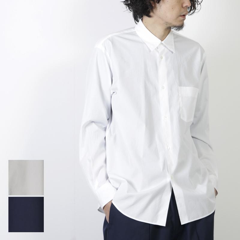 Graphpaper (グラフペーパー) Broad Regular Collar Shirt / ブロードレギュラーカラーシャツ