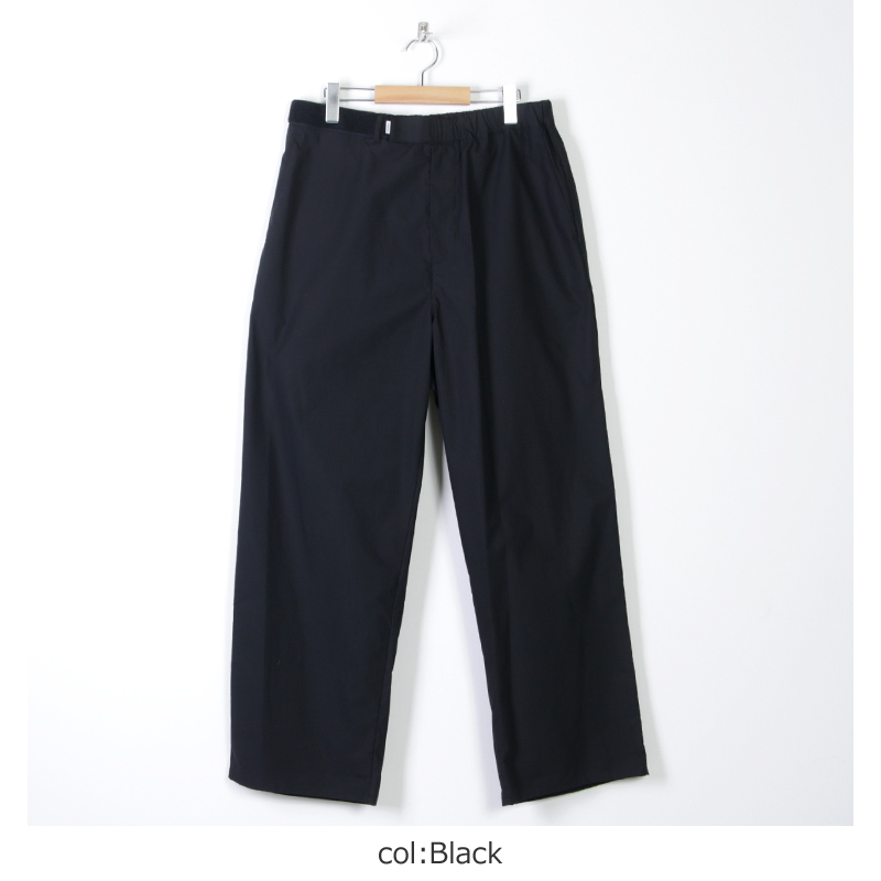 Graphpaper(グラフペーパー) Typewriter Wide Cook Pants