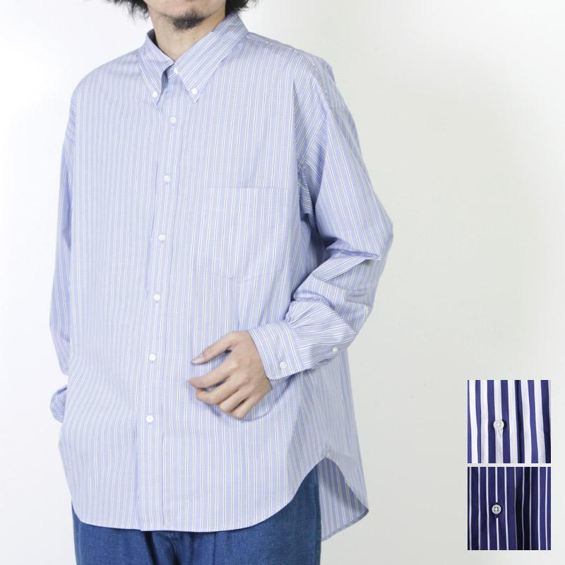 Graphpaper (グラフペーパー) THOMAS MASON L/S B.D Box Shirt / トーマスメゾン ロングスリーブボタンダウンボックスシャツ