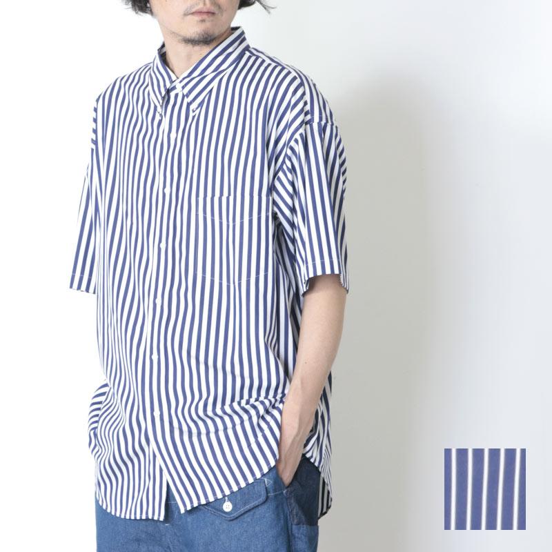 Graphpaper (グラフペーパー) THOMAS MASON S/S B.D Box Shirt / トーマスメイソン ショートスリーブ ボタンダウンショートスリーブシャツ