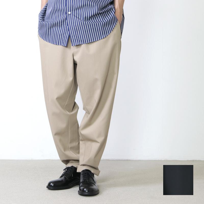 Graphpaper (グラフペーパー) COTTON TWILL Cook Pants / コットンツイル コックパンツ