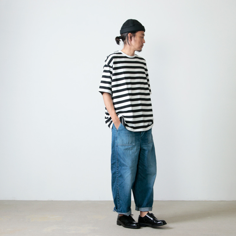 Graphpaper(グラフペーパー) Boader S/S Tee