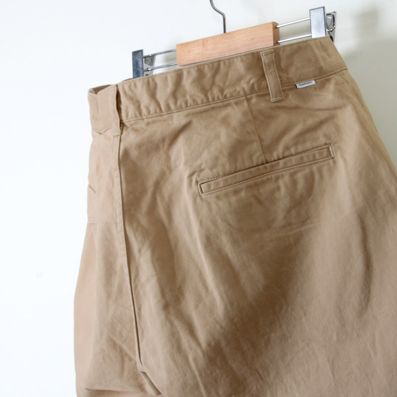 Graphpaper(グラフペーパー) Military Cloth Two Tucks Pants