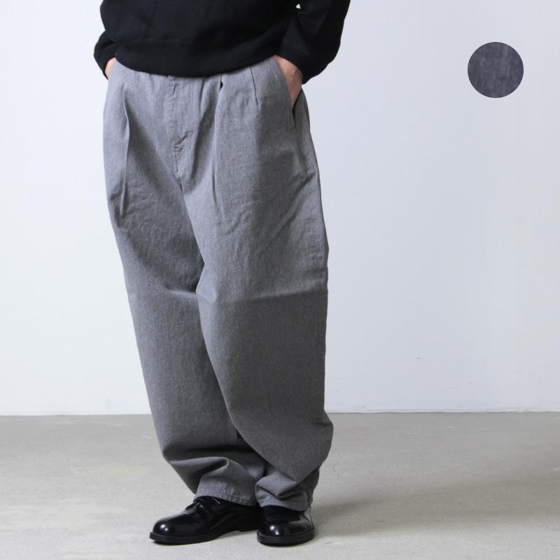 Graphpaper (グラフペーパー) Colorfast Denim 2 Tuck Pants / カラーファストデニム2タックパンツ