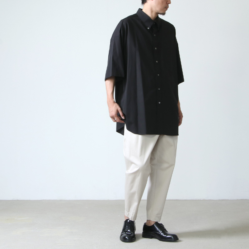 "Graphpaper(グラフペーパー) THOMAS MASON""  for GP Oversized S/S B.D Shirt"
