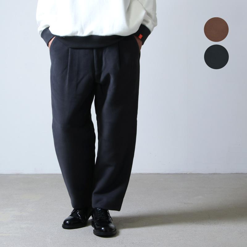 Graphpaper (グラフペーパー) Double Cloth Moleskin Trouser / ダブルクロスモールスキン トラウザー