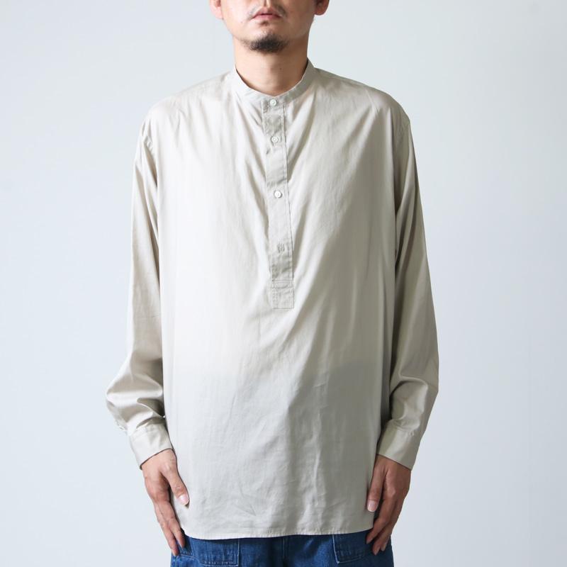 Graphpaper(グラフペーパー) Broad Band Collar Shirt