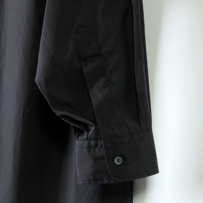 Graphpaper(グラフペーパー) Broad L/S Oversized Band Collar Shirt