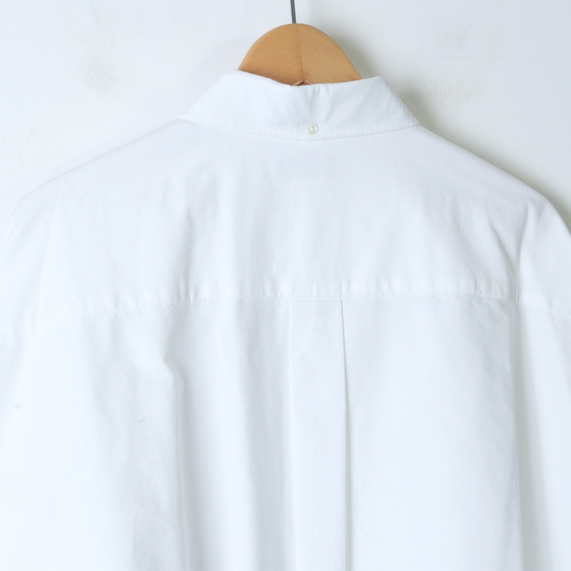 Graphpaper(グラフペーパー) Oxford Oversized B.D Shirt