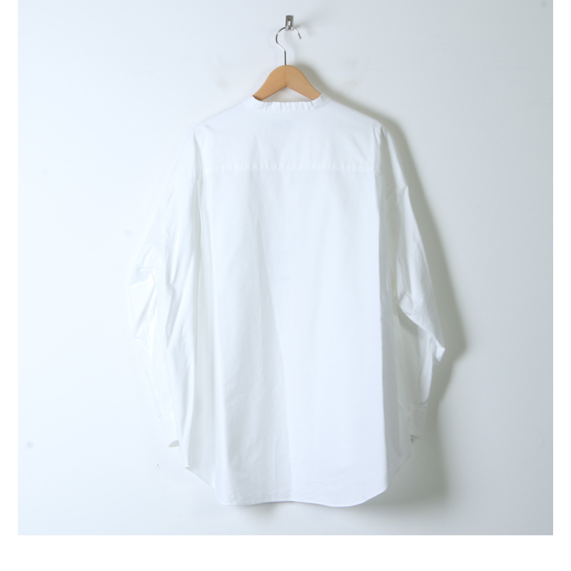 Graphpaper(グラフペーパー) Oxford Oversized Band Collar Shirt