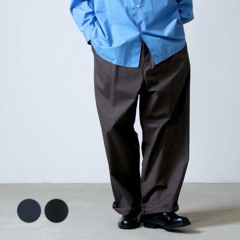 Graphpaper (グラフペーパー) Stretch Typewriter Wide Chef Pants / ストレッチタイプライター ワイドシェフパンツ