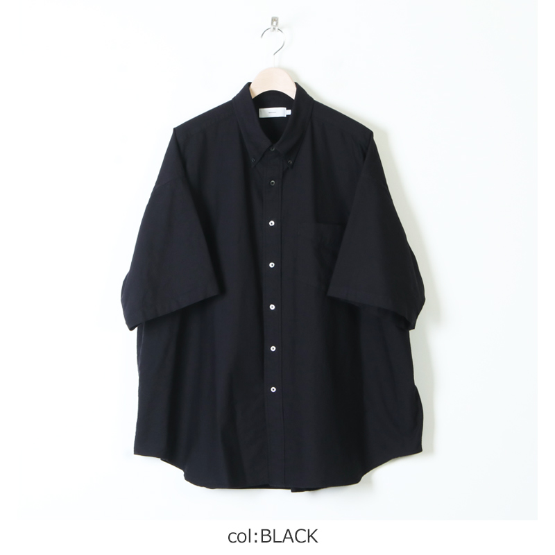 Graphpaper(グラフペーパー) Oxford Oversized S/S B.D Shirt