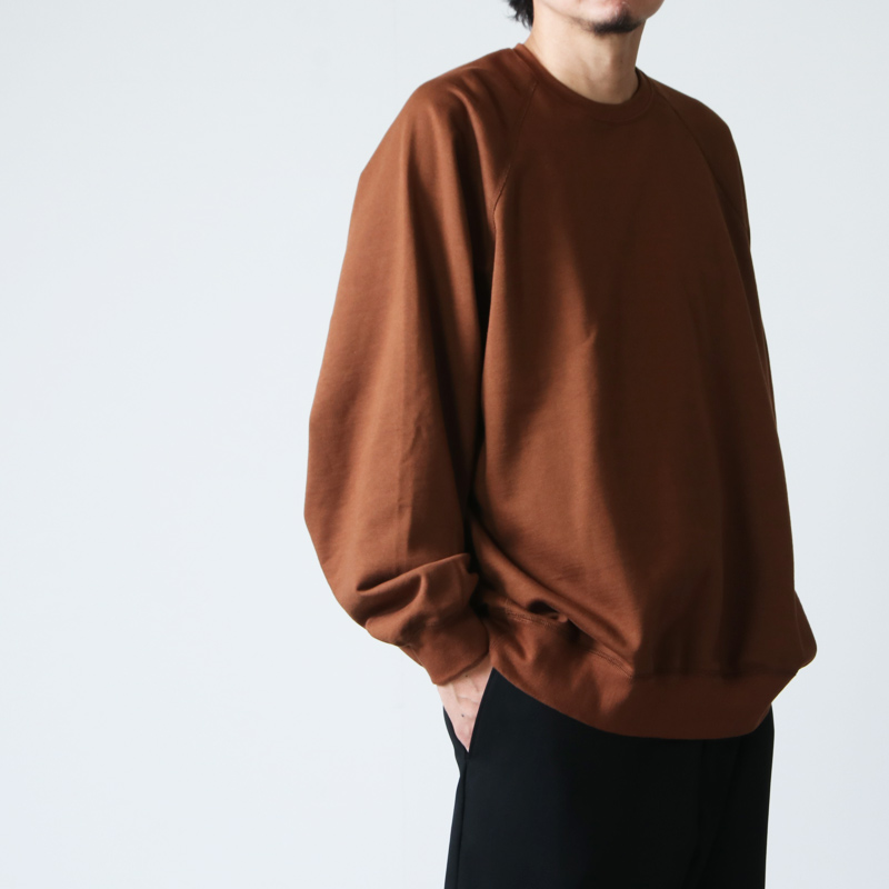 Graphpaper(グラフペーパー) Compact Terry Crew Neck