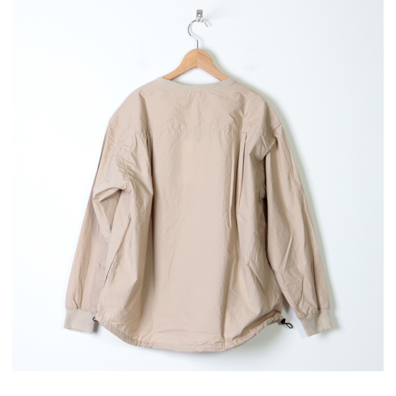 have a good day(ハブアグッドデイ) Pull over henry shirts For Women