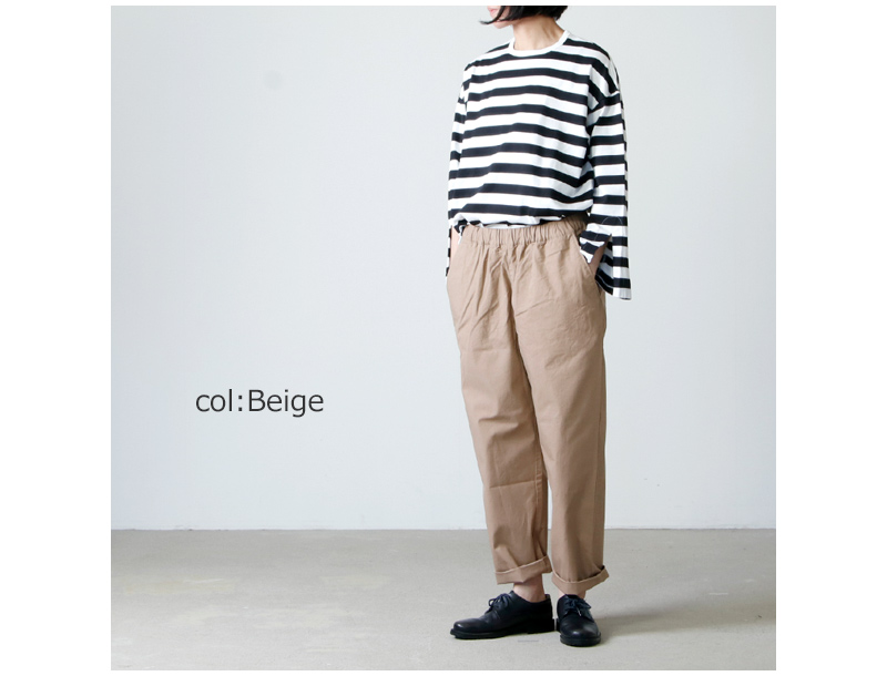 have a good day(ハブアグッドデイ) Relax trouser  pants For Women