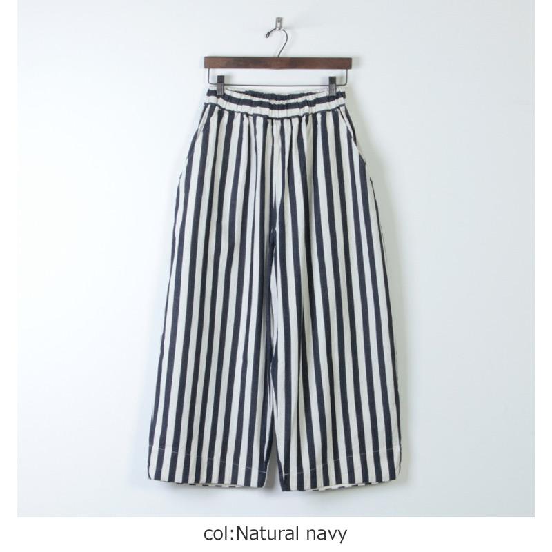 have a good day(ハブアグッドデイ) Stripe volume pants For Women