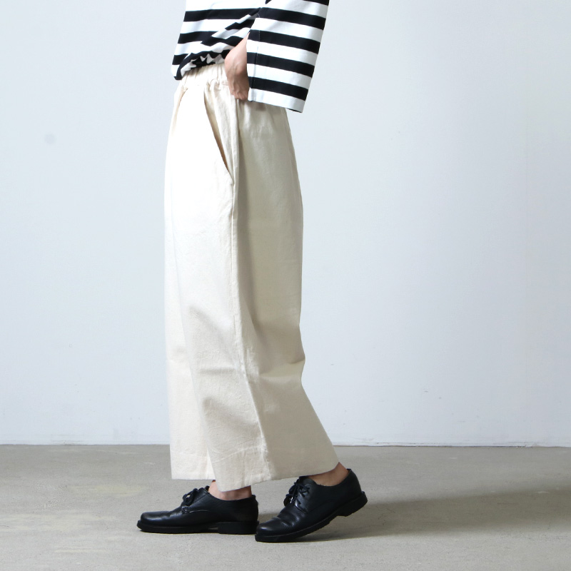 have a good day(ハブアグッドデイ) Denim volume pants For Women