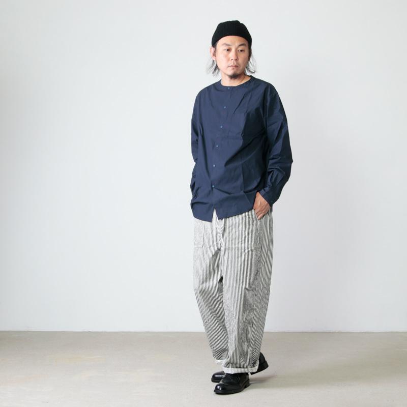 have a good day(ハブアグッドデイ) No collar shirts