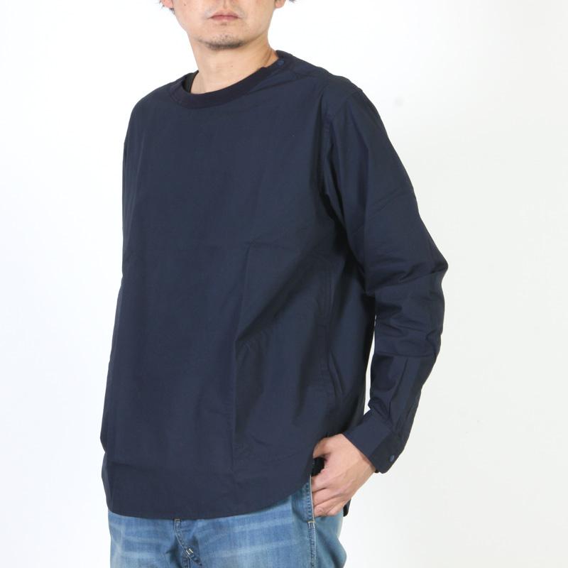 have a good day(ハブアグッドデイ) プルオーバークルーネックシャツ