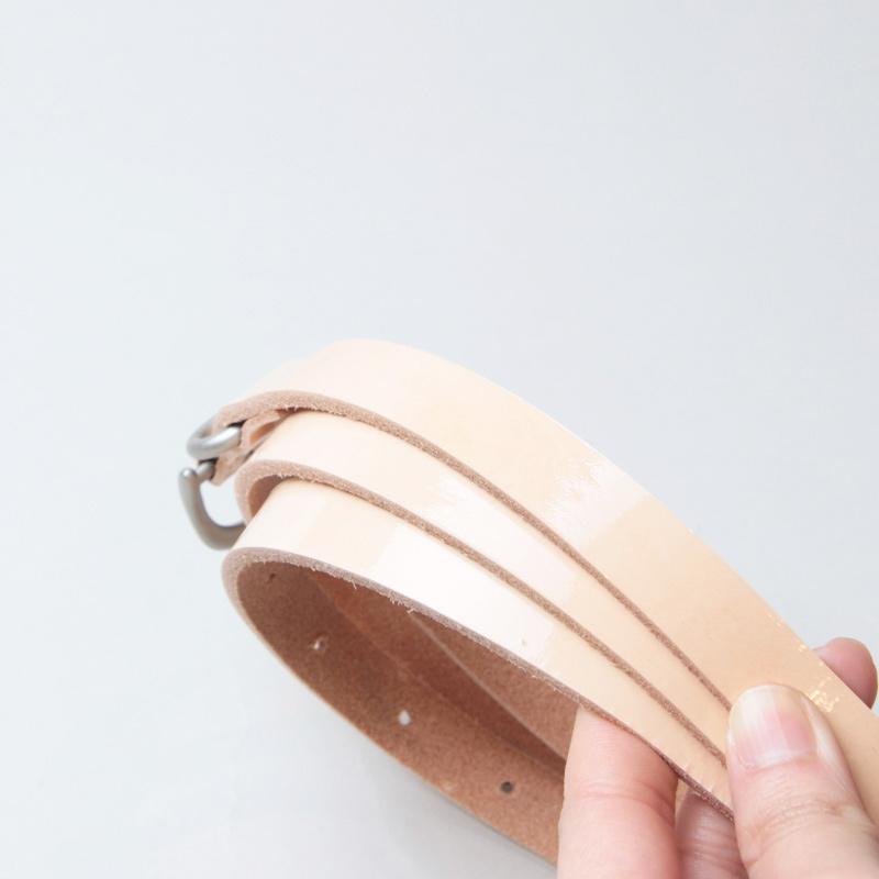 Hender Scheme(エンダースキーマ) natural patent tail belt