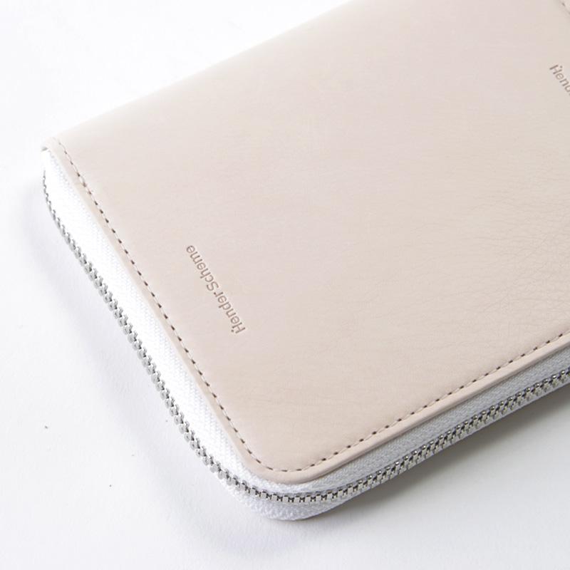 Hender Scheme(エンダースキーマ) square zip purse