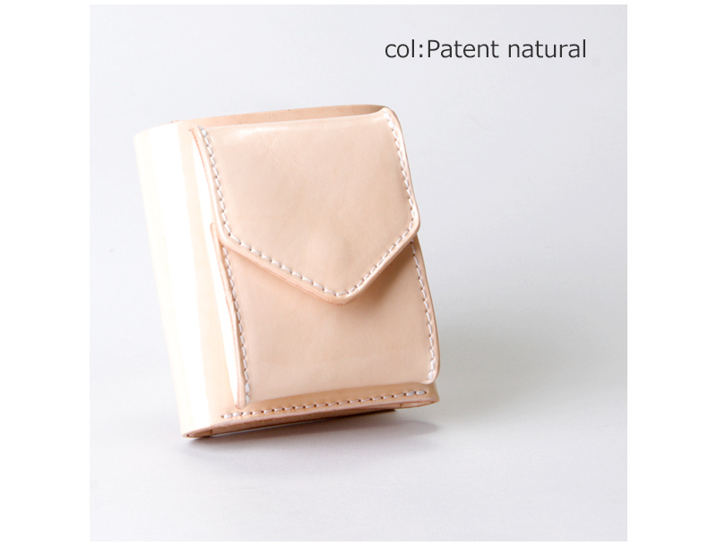 Hender Scheme(エンダースキーマ) natural patent trifold wallet