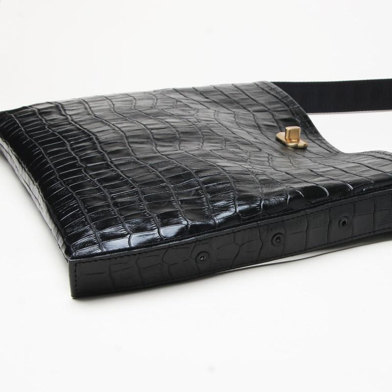 Hender Scheme(エンダースキーマ) twist buckle bag crocodile S