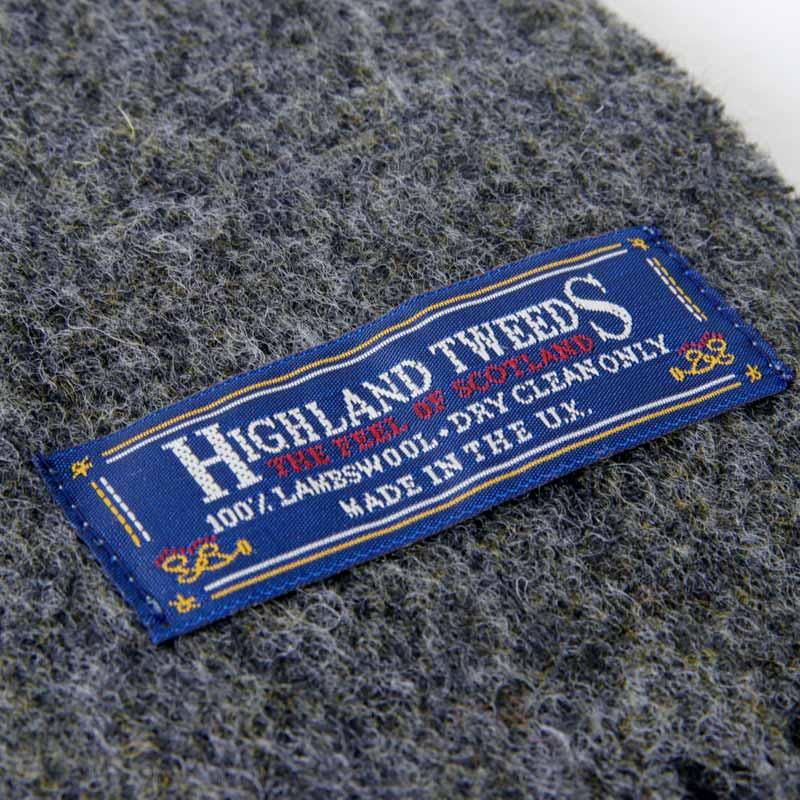HIGHLAND TWEEDS(ハイランド ツイード) SOLID SCARF