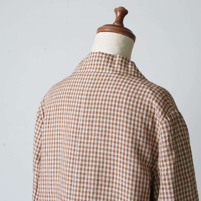 ICHI Antiquites(イチアンティークス) リネンダンガリージャケット
