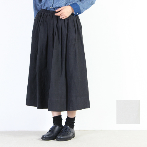 ina (イナ) リネンウエストギャザースカート