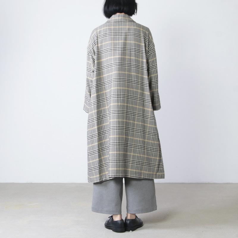 ina(イナ) フロントダブル裏起毛コート