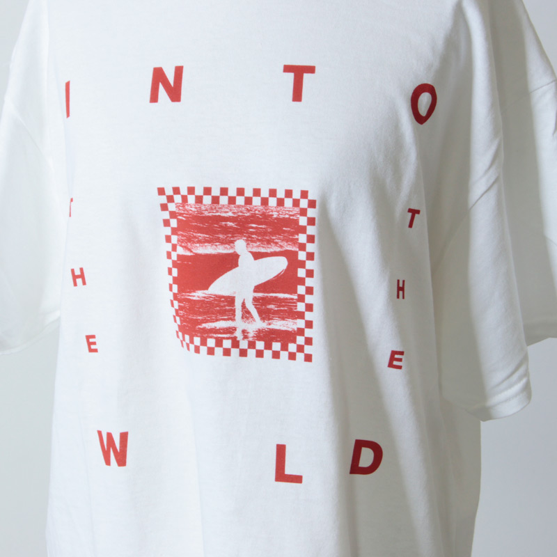 Into The Wild(イントゥ ザ ワイルド) SURF TEE