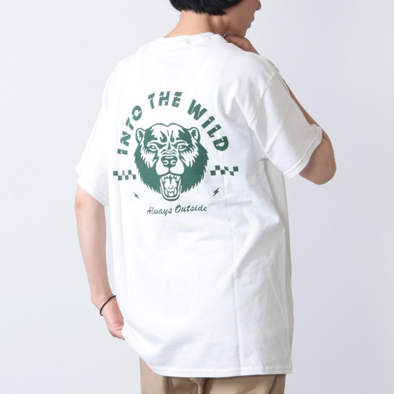 Into The Wild(イントゥ ザ ワイルド) BEAR TEE