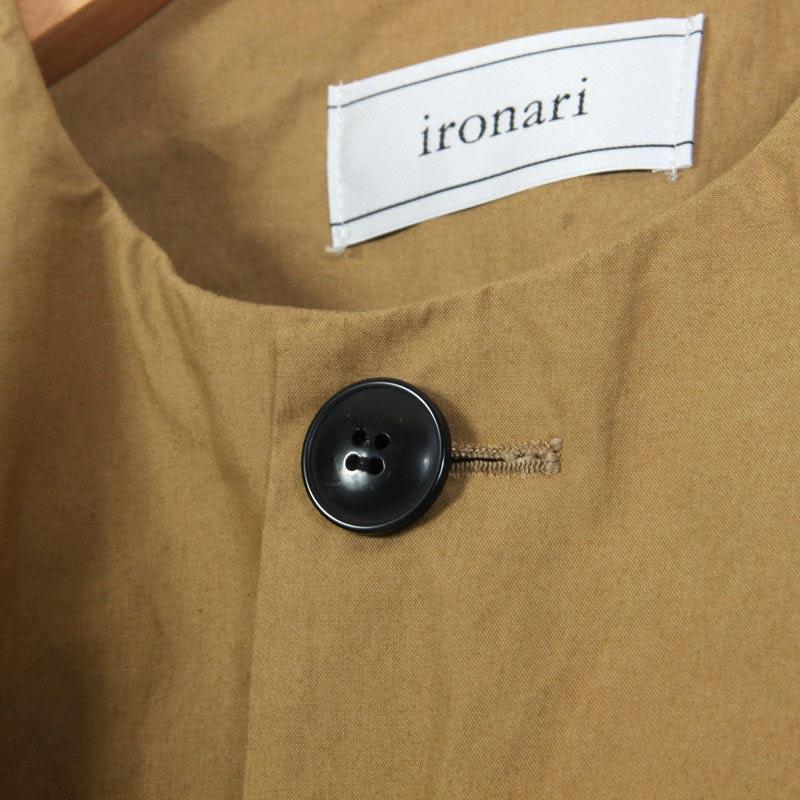 ironari(イロナリ) ノーカラーサクラコート