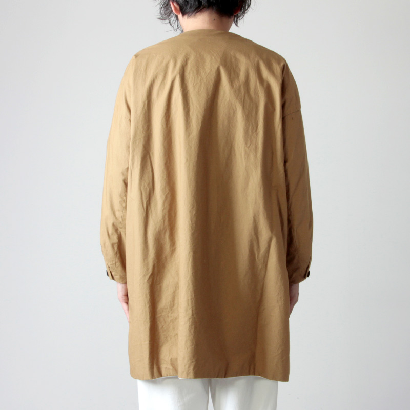 ironari(イロナリ) 別注ノーカラーサクラコート