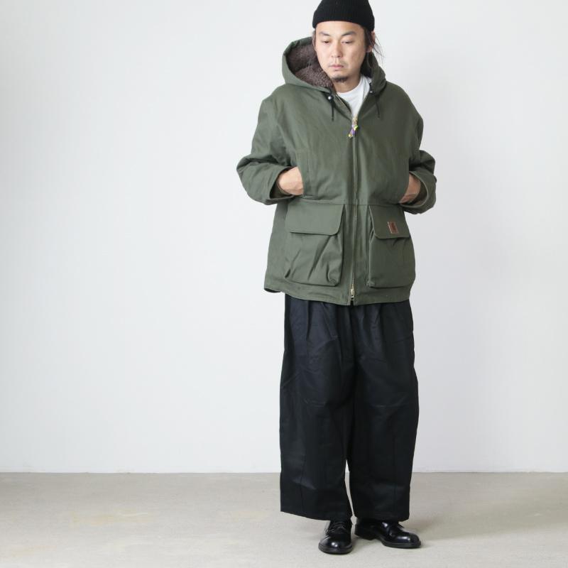 is-ness(イズネス) COJ DUCK FOODED JACKET